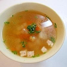 コロコロ野菜のコンソメスープ
