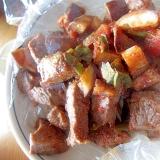 牛肉ナスのトマト煮