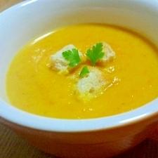冷やしても美味しいかぼちゃのスープ