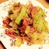 〜ベーコンと野菜の焼肉中華炒め〜