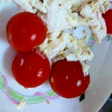 鶏ササミサラダ