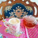 烏龍マシュマロ茶