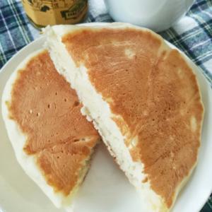 混ぜてフライパンで焼くだけのもっちりパン