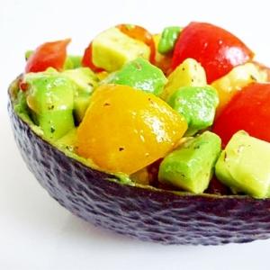 アボカドとプチトマトのヴィネグレットサラダ