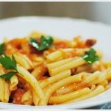 サンマルツァーノを使ったトマトソースのパスタ
