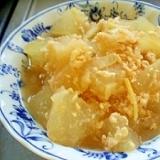 冬瓜の鶏ミンチ煮