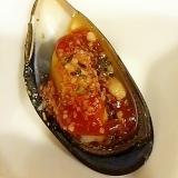 ムール貝のケチャチーズ焼き