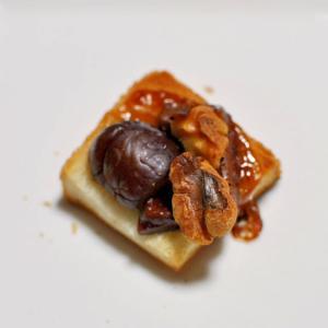 ナッツ&甘栗&焼きチョコdeおつまみパン