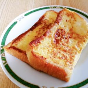 桃風味のフレンチトースト