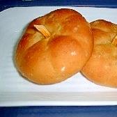 カボチャの形のカボチャパン