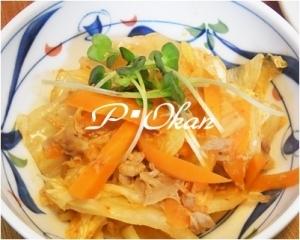 レンジで簡単♪白菜とツナ缶のピリ辛煮