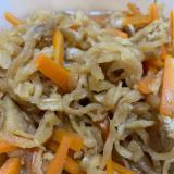 和食の定番、切り干し大根の煮物