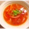 コーントマトスープ
