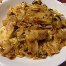豆腐とキムチの炒めもの