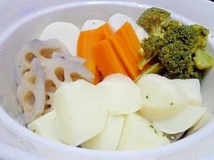 野菜たっぷりの蒸し鍋