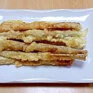 ごぼうの 醤油麹天ぷら