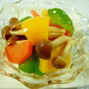 ☆きのこと野菜のさっぱりマリネ☆