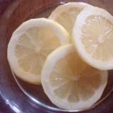 レモンのザラメで砂糖漬け☆