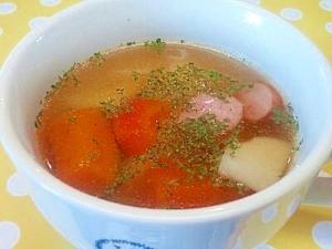 じゃがいも&ウインナーのスープ
