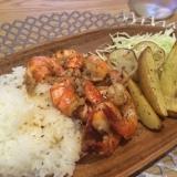 ハワイで食べた!ノースショアのガーリックシュリンプ