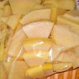 美味しさそのまま☆筍の冷凍保存法
