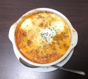 【簡単】鶏肉とトマトのドリア