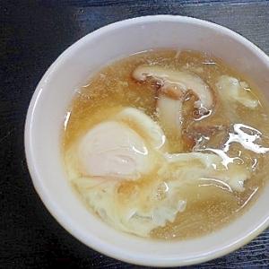 しいたけあんかけスープ