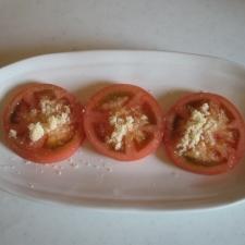 昔懐かしい昭和の味♪ トマトに三温糖