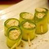 簡単前菜★クリームチーズのきゅうり巻き