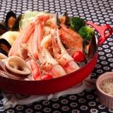 カニと海鮮たっぷりのブイヤベース風鍋