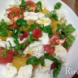 簡単*ミニトマトとモッツァレラチーズのカプレーゼ