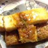 韓国サムジャンを使って❤︎簡単焼き豆腐