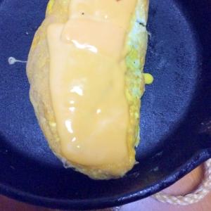 パセリ卵焼きチェダーチーズ