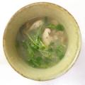 とろみレンコンとキノコの和風スープ