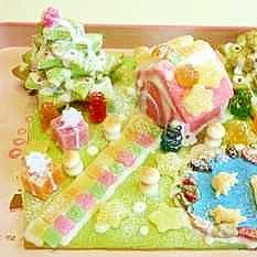 ★クッキーハウス2014お菓子の家★神天