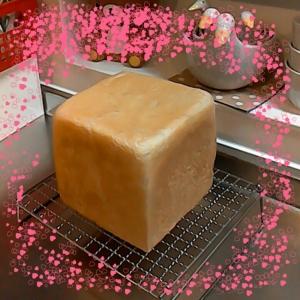 HBで角食パン(湯だね)