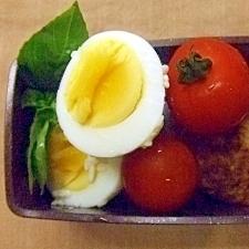 ラップで簡単!1個でも作れる塩麹卵