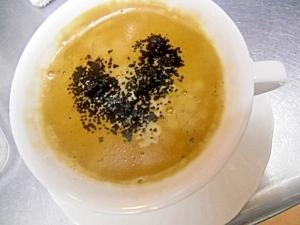 ココアとはちみつ入りコーヒー