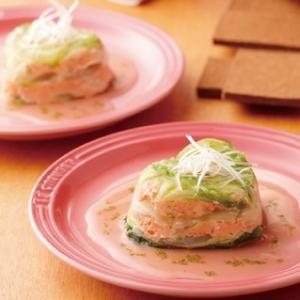 [ル・クルーゼ公式] 白菜と秋鮭の重ね蒸し