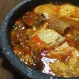 本格的な韓国の家庭の味 旨辛スンドゥブ