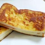 朝食に☆ベーコンとチーズのホットサンド