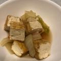 めんつゆで簡単! 白菜と厚揚げの煮物