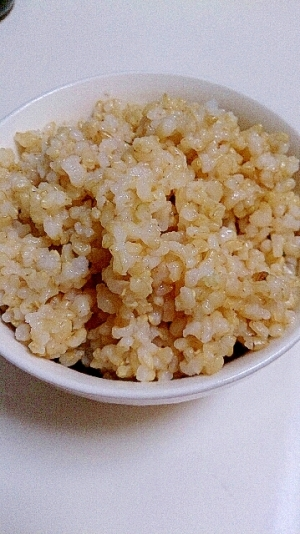 玄米の炊き方~圧力鍋~4合