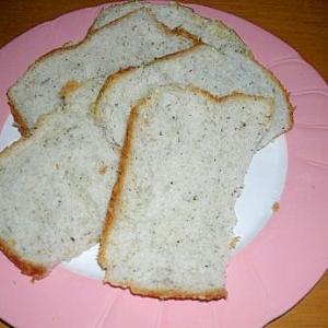 HBで黒ゴマ食パン
