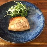 鯖の山椒味噌焼き