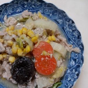 豚肉と野菜の酒粕蒸し(全工程写真付き)
