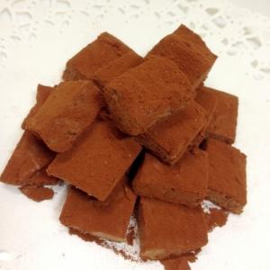 材料4つ!生チョコふうなチーズチョコ、甘しょっぱ♡