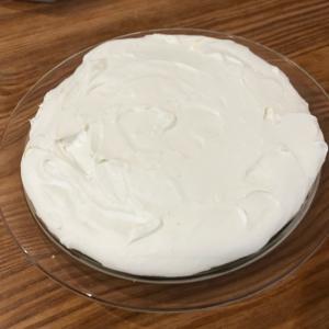 ハンドミキサーで混ぜるだけの簡単レアチーズケーキ