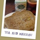 【渋皮煮】マロン風味の紅茶パン