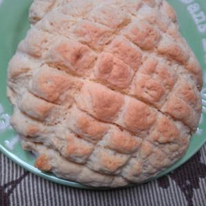 バニラ香るメロンパン